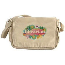 Cute Libraries Messenger Bag