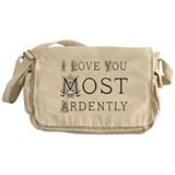 Funny Jane austen Messenger Bag