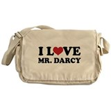 I Love Mr. Darcy Messenger Bag