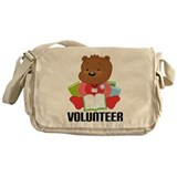Library volunteer Messenger Bag