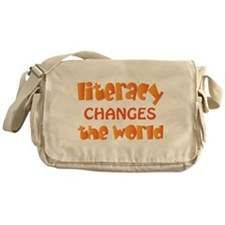 Reading Literacy Messenger Bag