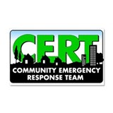 Community Emergency Response Team (CERT) Car Magne