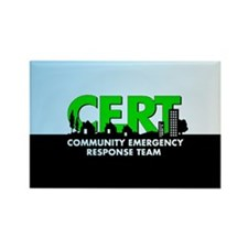 CERT Rectangle Magnet (100 pack)