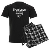 Love is matching PJs  Pyjamas