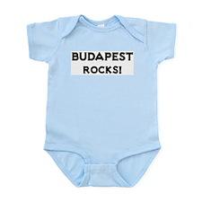 Budapest Rocks! Infant Creeper