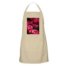 Raspberry Tulips Apron