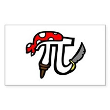 Pi Pirate Decal