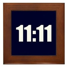 11:11 Framed Tile