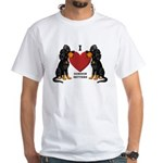Gordon Setter White T-Shirt