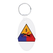 5th Armored Division Keychains