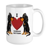 Gordon Setter Ceramic Mugs