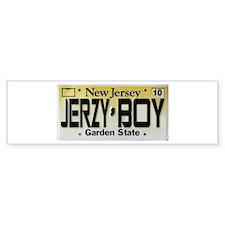 Jersey Boy Bumper Sticker