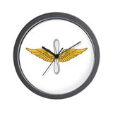 Aviation Branch Insignia Wall Clock
