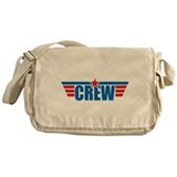 Aviation Crew Wings Messenger Bag
