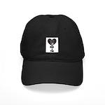 HUG A PUG (BLACK CHINESE PUG) Black Cap