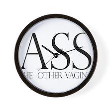 Ass.... (large) Wall Clock