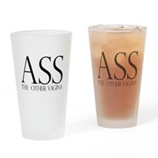 Ass.... (large) Drinking Glass