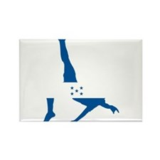 Honduras Soccer Rectangle Magnet (10 pack)