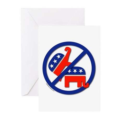 SIX Ban Republican Marriage (sex) Greeting Cards