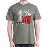 I am the one percent T-Shirt