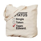 Single Taken Team Edward Tote Bag