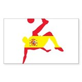 Spain Soccer Decal