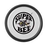 Dodge super bee Giant Clocks
