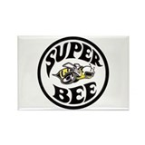 Super Bee design Rectangle Magnet