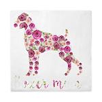 Whitetail Euro Mount Suede Pillow