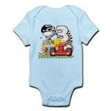 Racecar Birthday Infant Bodysuit