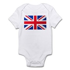 Union Jack Flag Infant Creeper