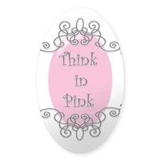 Think in Pink Decal