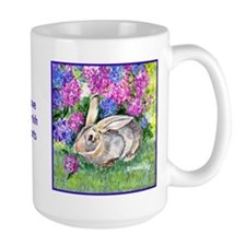 Flemish Giant Rabbit Ceramic Mugs