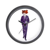 Hipper Tiger (Retro) Wall Clock