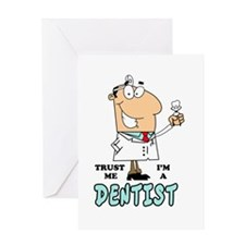 Trust Me Im a Dentist Greeting Card