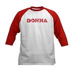 Donna Kids Baseball Jersey