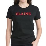Elaine Women's Dark T-Shirt