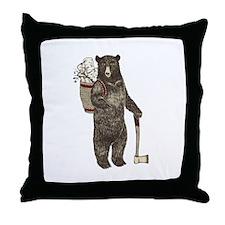Cool Hunter Throw Pillow