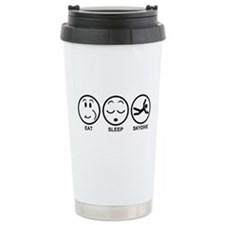 Eat Sleep Skydive Ceramic Travel Mug