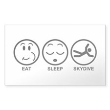 Eat Sleep Skydive Decal