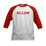 Ellen Kids Baseball Jersey