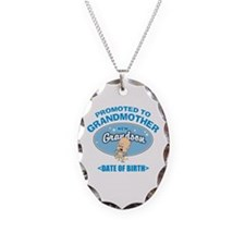 Funny New Grandmother Personalized Necklace