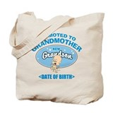 Funny New Grandmother Personalized Tote Bag