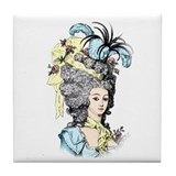 French Aristocrat Tile Coaster