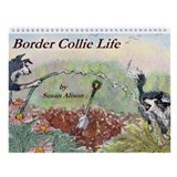 Border Collie Life Wall Calendar