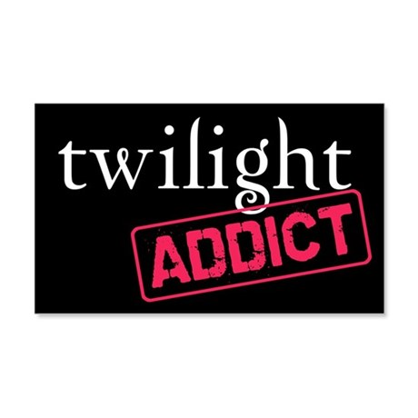 Twilight Addict 22x14 Wall Peel