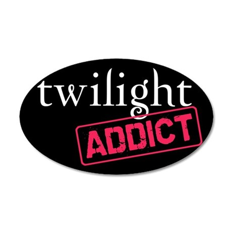 Twilight Addict 38.5 x 24.5 Oval Wall Peel
