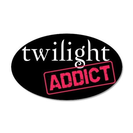Twilight Addict 22x14 Oval Wall Peel