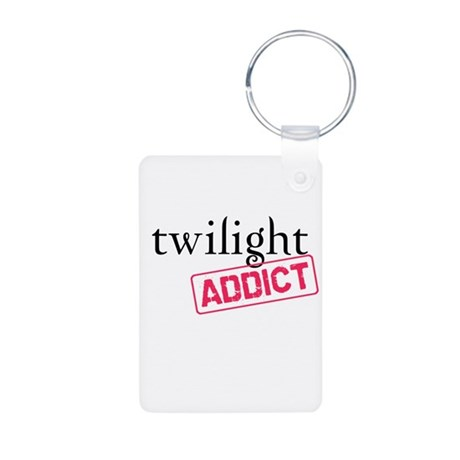 Twilight Addict Aluminum Photo Keychain