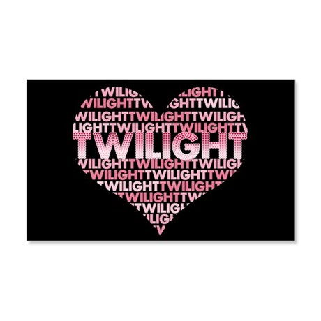 Twilight Heart 22x14 Wall Peel